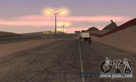Lights from San Fierro to Las Venturas for GTA San Andreas third screenshot