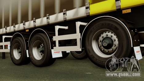 Trailer 15 meters for GTA San Andreas back left view