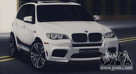 BMW X5M MPerformance Packet for GTA San Andreas