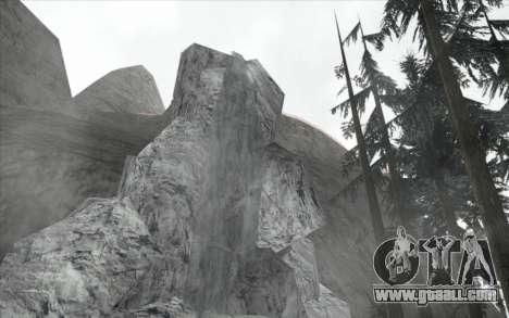 Waterfall v0.1 Beta for GTA San Andreas third screenshot