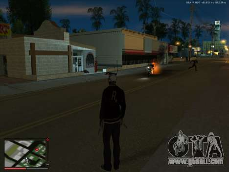 Madness in the state of San Andreas. Beta. for GTA San Andreas third screenshot