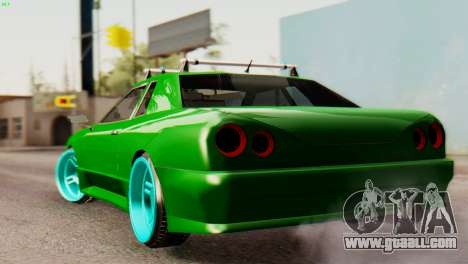 Elegy Korch New Wheel for GTA San Andreas back left view