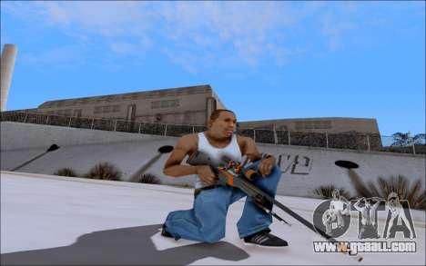 AWP Carbone Edition for GTA San Andreas second screenshot