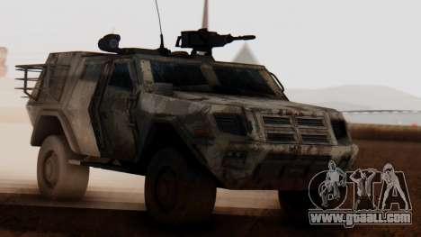 BAE Systems JLTV Extra Skin for GTA San Andreas