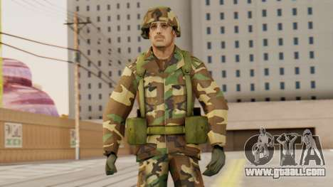Soldiers of the U.S. army for GTA San Andreas