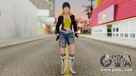 Dancing Girl for GTA San Andreas second screenshot