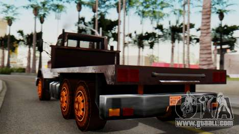 Flatbed 1.0 for GTA San Andreas left view