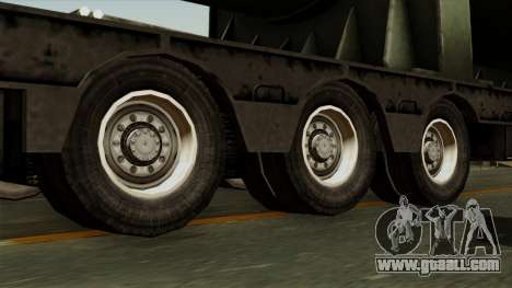 Trailer Cargos ETS2 New v3 for GTA San Andreas back left view