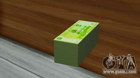 3000 Rubles for GTA San Andreas