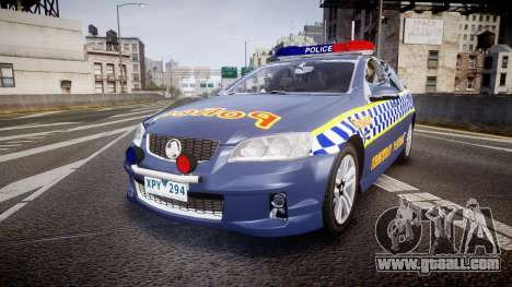 Holden VE Commodore SS Highway Patrol [ELS] v2.1 for GTA 4