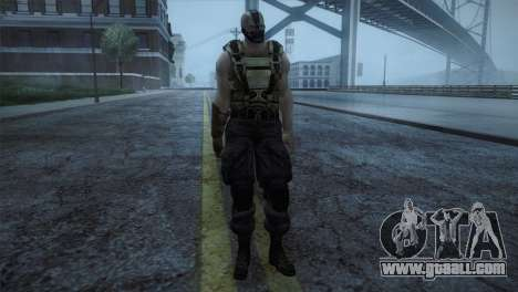 Bane from Bartman Movie for GTA San Andreas second screenshot