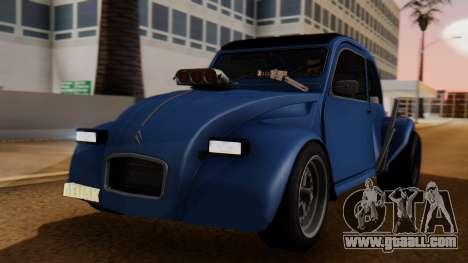 Citroen 2CV (jian) Drag Style Edition for GTA San Andreas