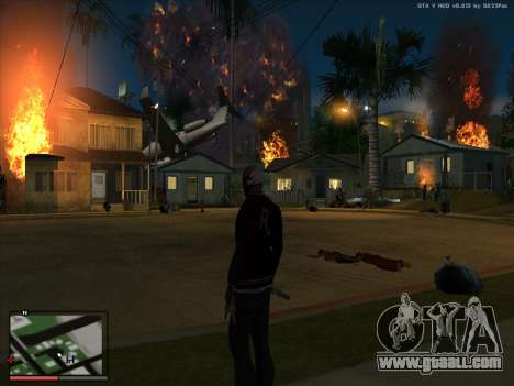 Madness in the state of San Andreas. Beta. for GTA San Andreas forth screenshot