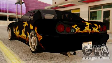 Vinyl for Elegy - the Flame for GTA San Andreas left view