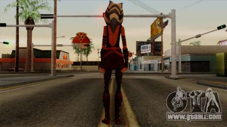 Ahsoka Tano Star Wars for GTA San Andreas third screenshot