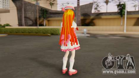 Nadja [Ashita no Nadja] for GTA San Andreas third screenshot