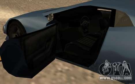 GTA 3 Infernus SA Style v2 for GTA San Andreas inner view