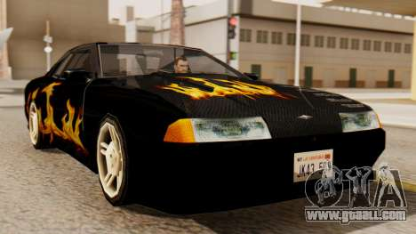 Vinyl for Elegy - the Flame for GTA San Andreas