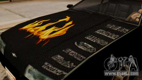 Vinyl for Elegy - the Flame for GTA San Andreas right view