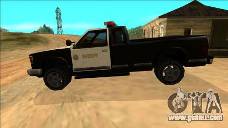 New Yosemite Police v2 for GTA San Andreas interior