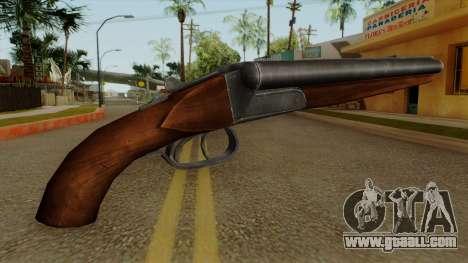 Original HD Sawnoff Shotgun for GTA San Andreas second screenshot