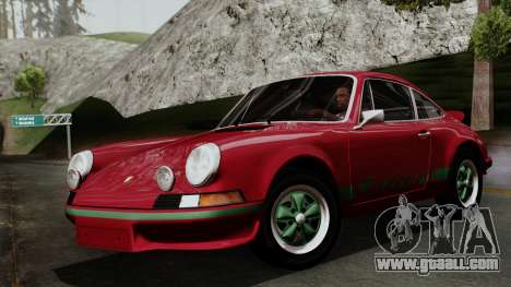 Porsche 911 Carrera RS 2.7 Sport (911) 1972 IVF for GTA San Andreas