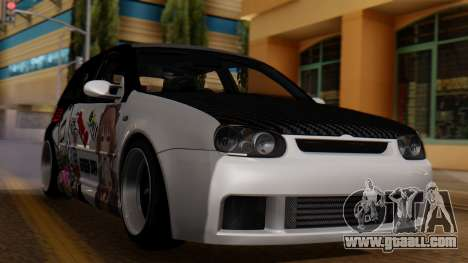 Volkswagen Golf R32 JDM Itasha for GTA San Andreas