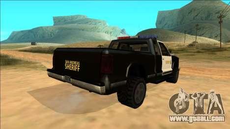 New Yosemite Police v2 for GTA San Andreas side view