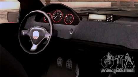 GTA 5 Declasse Asea for GTA San Andreas right view