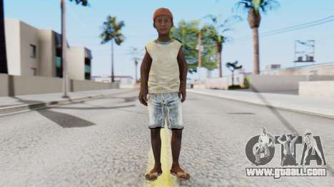 African Child for GTA San Andreas second screenshot