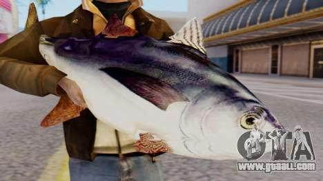 Tuna Fish Weapon for GTA San Andreas third screenshot