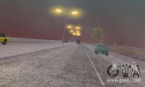 Lights from San Fierro to Las Venturas for GTA San Andreas seventh screenshot