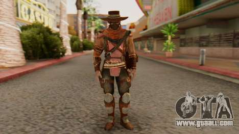 Erron Black [MKX] for GTA San Andreas second screenshot