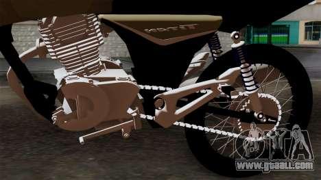 CB1 Stunt Imitacion for GTA San Andreas back view