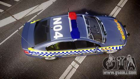 Holden VE Commodore SS Highway Patrol [ELS] v2.1 for GTA 4 right view
