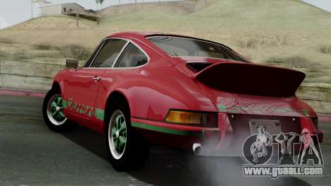Porsche 911 Carrera RS 2.7 Sport (911) 1972 IVF for GTA San Andreas left view