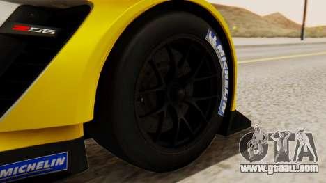 Chevrolet Corvette C7R GTE 2014 PJ2 for GTA San Andreas back left view