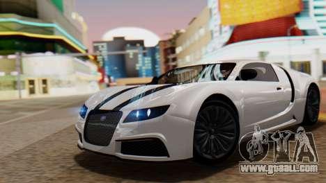 GTA 5 Adder Tire Dirt for GTA San Andreas