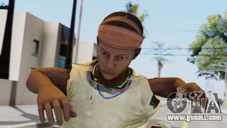 African Child for GTA San Andreas