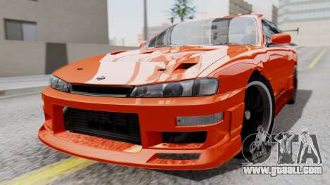 Nissan Silvia S14 (240SX) Fast and Furious for GTA San Andreas