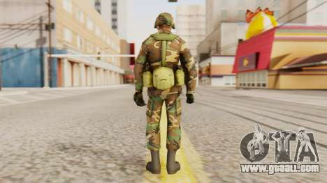 Soldiers of the U.S. army for GTA San Andreas third screenshot