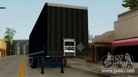 Trailer Krone Profiliner v2 for GTA San Andreas inner view