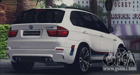 BMW X5M MPerformance Packet for GTA San Andreas left view