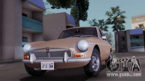 MGB GT (ADO23) 1965 HQLM for GTA San Andreas