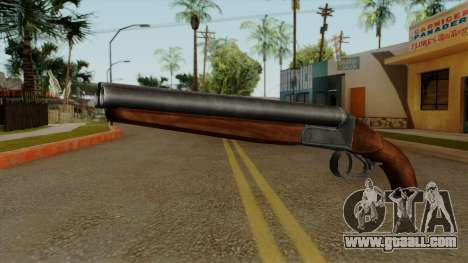 Original HD Sawnoff Shotgun for GTA San Andreas