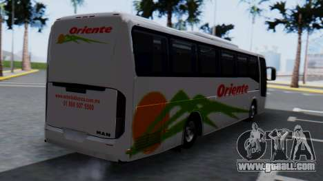 Busscar Elegance 360 for GTA San Andreas left view
