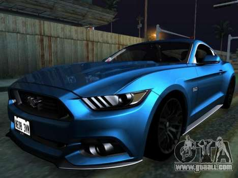 Metallic ENB Series for GTA San Andreas