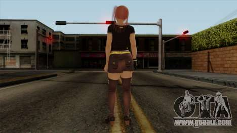 RE Dead Or Alive 5LR - Honoka C5 for GTA San Andreas third screenshot