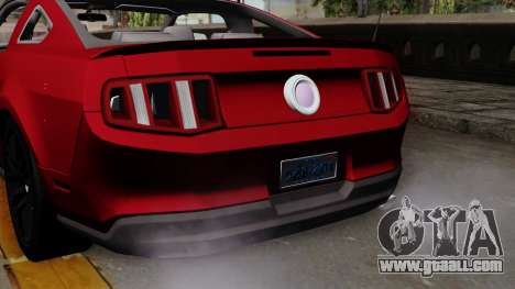 Ford Mustang GT 2010 for GTA San Andreas right view