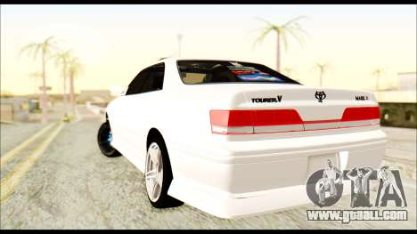 Toyota Mark 2 JZX 100 for GTA San Andreas left view